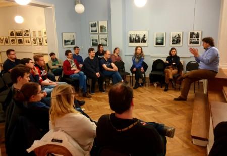 Vortrag im Max Samuel Haus