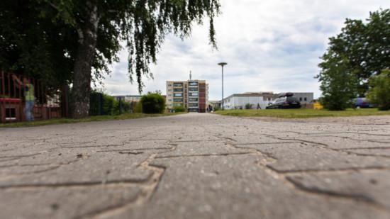 NSU-Tatort: Martin-Niemöller-Straße / Neudierkower Weg ist der Ort, an dem der Mord an Mehmet Turgut stattfand