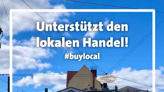 Unterstützt die Lokalen – buylocal – Corona in Rostock