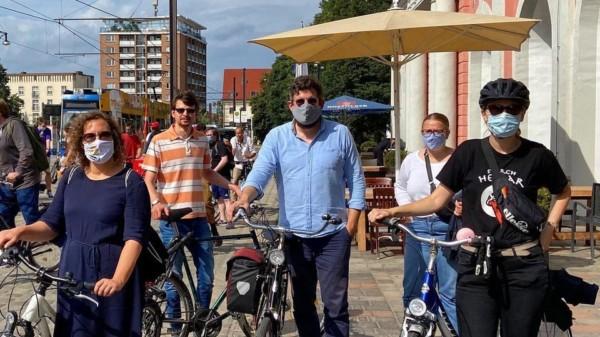 Fahrrad Demo Lichtenhagen