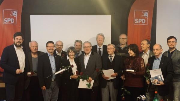 Gründungsmitglieder der SPD im Rostock werden geehrt