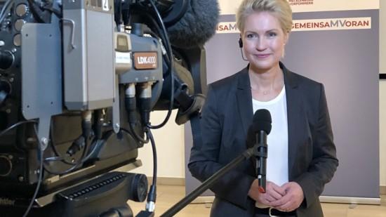 Manuela Schwesig im Interview